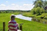 thumbnail - Landschaft an der Hase bei Bramsche