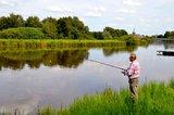 thumbnail - Angler am Wasser in Barßel