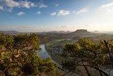 thumbnail - Blick von der Bastei Richtung Kurort Rathen