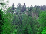 thumbnail - Hütte auf dem Burgbachfelsen