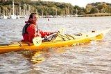 thumbnail - Paddler vor dem Hafen Ralswiek