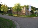 thumbnail - Archäologiepark Altmühtal - keltisches Stadttor an der Schleuse in Kelheim