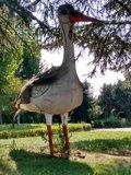 thumbnail - Der Storch am Offenbacher Rathaus