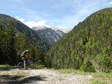 thumbnail - Mountainbiketour - Planseerunde, Blick auf Geierköpfe