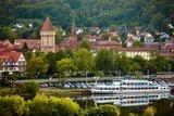 thumbnail - Kreuzwertheim - Blick vom bayerischen Kreuzwertheim über den Main auf die Wertheimer Altstadt