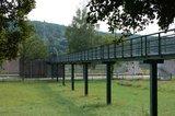 thumbnail - Der Fußgängersteg des Main-Kraftwerks bei Eichel