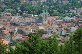 thumbnail - Vom Diezhäuschen aus eröffnet sich ein großartiger Blick auf Meiningen.