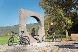 thumbnail - Kosmosradweg_Urknall, eine der Stationen des Radweges