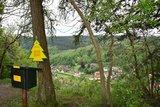 thumbnail - Stempelstelle Schornsteinberg mit Blick über Rübeland