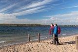 thumbnail - Wanderer am Schladitzer See