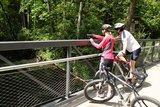 thumbnail - Radler auf dem Ohrntalradweg in Hohenlohe