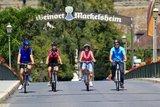 thumbnail - Radfahrer in Markelsheim