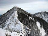 thumbnail - Der Gipfel der Brecherspitze von Westen