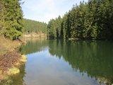 thumbnail - Der Grumbacher Teich - einer von vielen Teichen auf der Rundtour