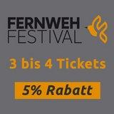 thumbnail - Fernweh Festival 3 - 4 Vorträge 5% Rabatt