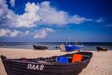 thumbnail - Am Fischerstrand in Baabe wird noch aktiv gefischt