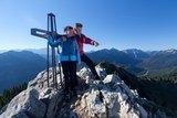 thumbnail - Bergtour Teufelstättkopf - Gipfelkreuz