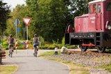thumbnail - Lokomotive am Radweg in Reinsfeld