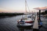 thumbnail - Kleiner Hafen in Sandstedt in Hagen im Bremischen