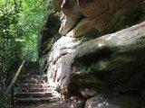 thumbnail - Treppen aus der Klamm