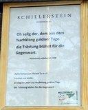 thumbnail - Beschreibung zum Schillerstein