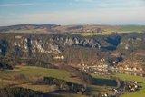 thumbnail - Blick vom Lilienstein Richtung Kurort Rathen