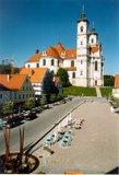 thumbnail - Marktplatz mit Basilika Ottobeuren