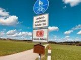 thumbnail - Beschilderung DB Günztal-Radweg