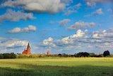 thumbnail - Blick auf die Marienkirche von Barth