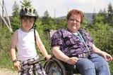 thumbnail - Ob Rolli oder Fahrrad auf dem Langer Berg