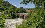 thumbnail - Ausgangspunkt der Mountainbiketour: Die Luitpoldbrücke Bad Reichenhall