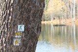 thumbnail - Wanderwegweiser am Kesselsee in Auma