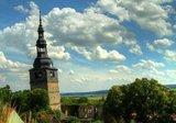 thumbnail - Schiefer Turm der Oberkirche - Bad Frankenhausen