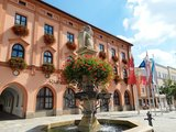 thumbnail - Stadtbrunnen und Rathaus