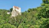 thumbnail - Blick auf Burg Prunn von Einthal aus