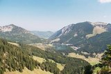 thumbnail - Blick vom Stolzenberg auf den Spitzingsee.