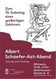 """thumbnail - Albert Schaefer-Ast (1890-1951) zum 70. Todestag – """"Heiterkeit ist der beste Doktor"""""""