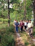 thumbnail - Zwar verspricht die Wanderung viel Ruhe, ist aber auch in einer Gruppe zu genißen.