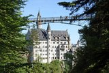 thumbnail - Blick von der Pöllatschlucht zum Schloss Neuschwanstein und zur Marienbrücke