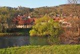 thumbnail - Treffurt an der Werra, im Hintergrund Burg Normannstein