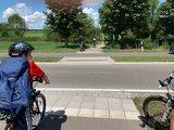 thumbnail - Überquerungshilfe von Ottobeuren Richtung DB-Günztalradweg