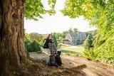 thumbnail - Blick zum Schloss Altenstein - Bad Liebenstein