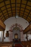 thumbnail - Gewölbte Decke der Kirche in Michelrieth