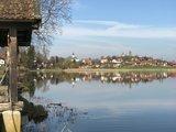thumbnail - Soier See mit Bad Bayersoien im Hintergrund