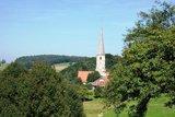 thumbnail - Blick auf die Wallfahrtskirche Taubenbach