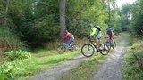 thumbnail - Einfahrt in den Trail am Osterspring