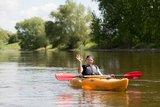 thumbnail - Im Kanu auf Werre und Weser