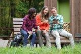 thumbnail - Pause und weitere Planung am Mittelwaldpavillon