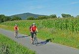 thumbnail - Radfahrer in Coburg.Rennsteig