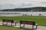 thumbnail - Die Promenade am Ufer des Möhnesees